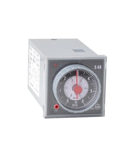 CDC S48 socle octal 230V, minuterie