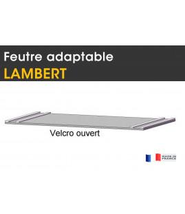 Adapt. LAMBERT , feutre Velcro + 2 pinces