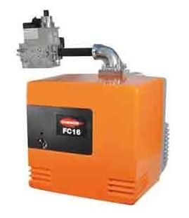 Puissance de 90 à 180 kW, brûleur gaz CUENOD 1 allure