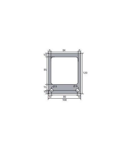 120 x 100 mm, adapt. PAVAILLER, joint pour appareil à buée
