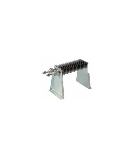 Support pour résistance ailettes 40 x 80 mm